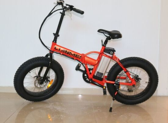 Electric Folding Bike 48V500W pictures & photos