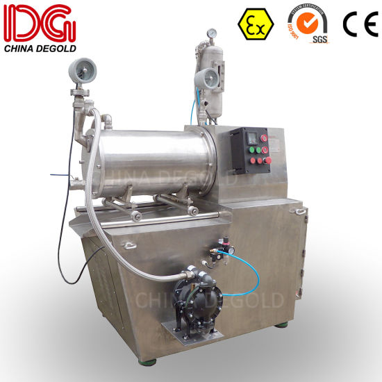 Horizontal Nanoemter Bead Mill for Pharmaceutical pictures & photos