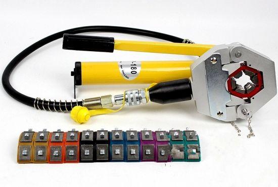 Igeelee Hose Crimper Kit AG-7842b Repair Air Conditioner Pipes Hydraulic  Hose Crimping Tool for Car Repair Withpump