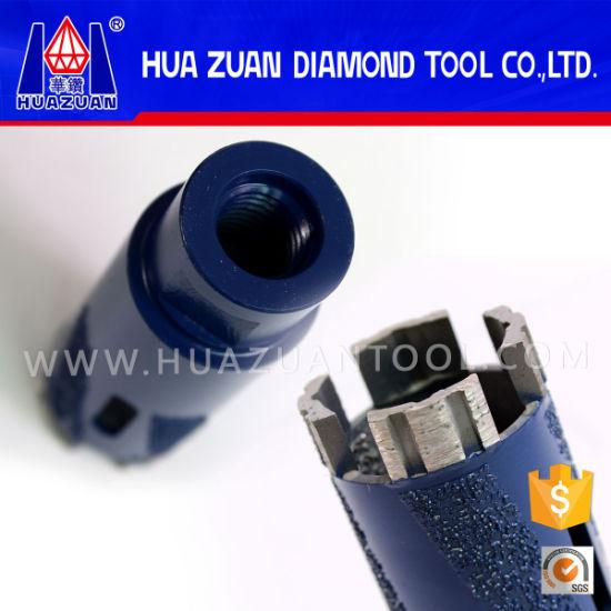 """1-3//8/"""" Diamond Segments Core Drill Bit with Pilot Bit Granite Marble Stone"""