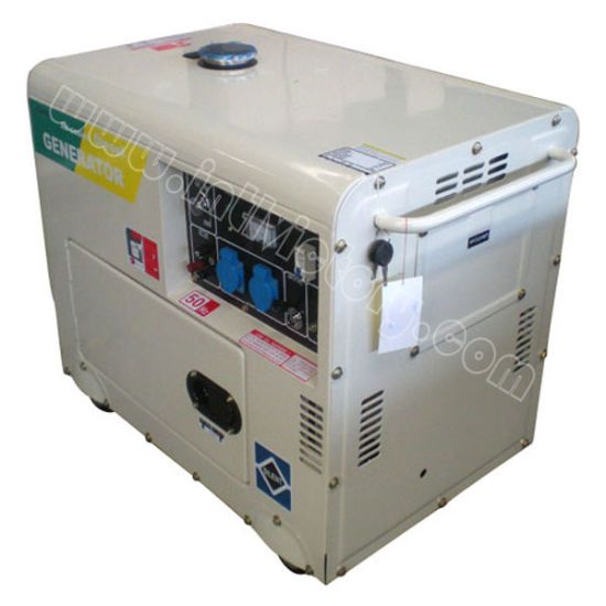 3kVA~6.5kVA Silent Diesel Portable Power Generator with Ce Certification pictures & photos