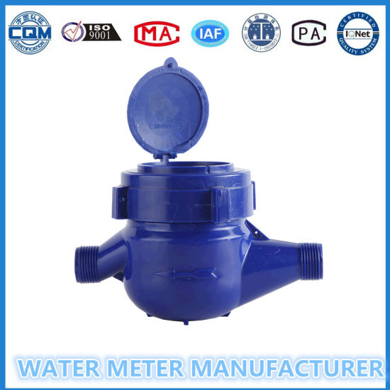Dn15mm Multi Jet Cold Water Meter of ABS Plastic Water Meter pictures & photos
