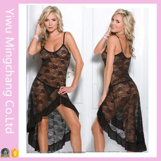 36224ba9d China Hot Sale Plus Size Women Sexy Lace Sleepwear - China Lingerie ...