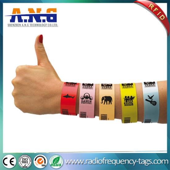 image relating to Hospital Bracelet Printable titled Printable Tyvek Health-related Identification Bracelets for Clinic