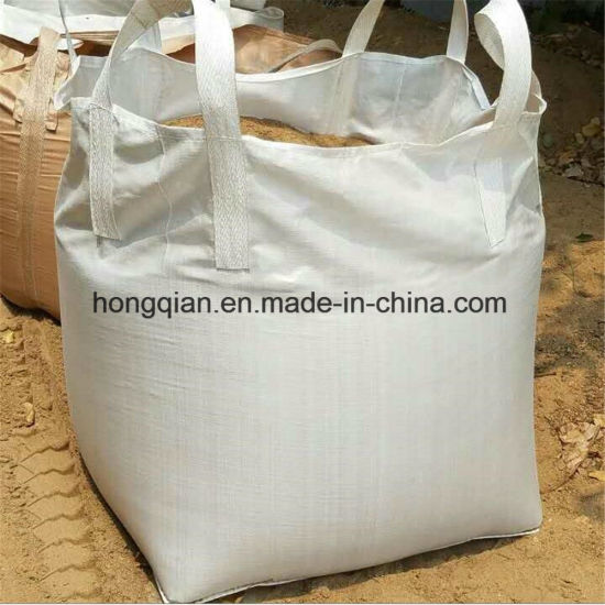 China One Ton Pp Fibc Bulk Container Jumbo Sand Cement Super Sacks Bag Supplier With Factory Price