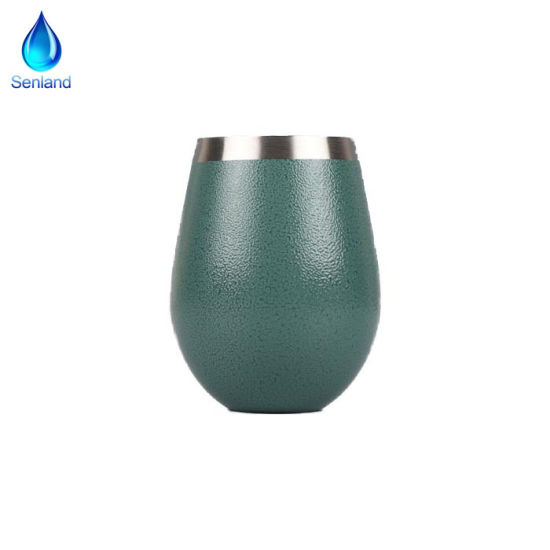 40b47180a89 10oz Stainless Steel Wine Glass-Vacuum Insulated Hydro Double Wall Flask