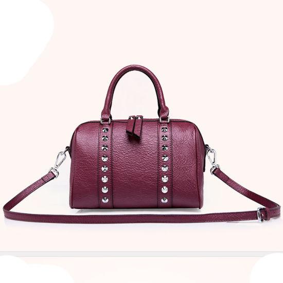 Made China Whole Handbags Las 2017 Women Bag Pu Leather With Diamond Zx10318