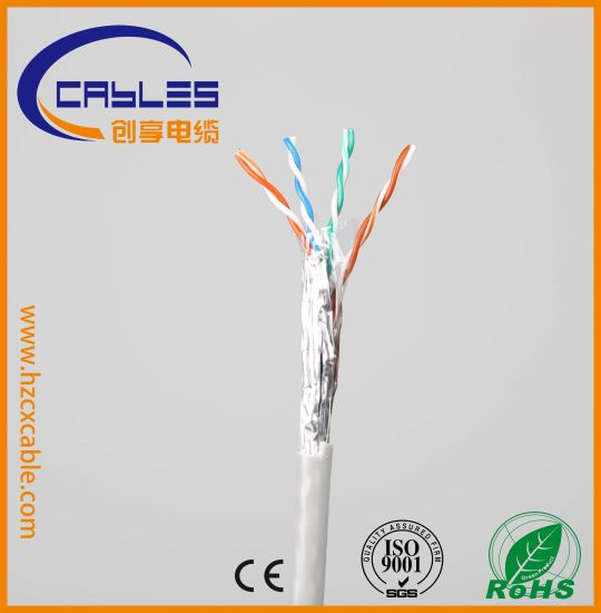 Indoor Network Cable Cat5e Shielded pictures & photos