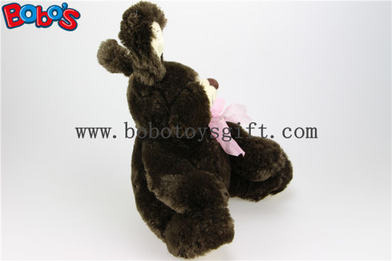 "11""Dark Brown Cute Bunny Stuffed Animal Toy in Wholesale Pirce Bos1147 pictures & photos"