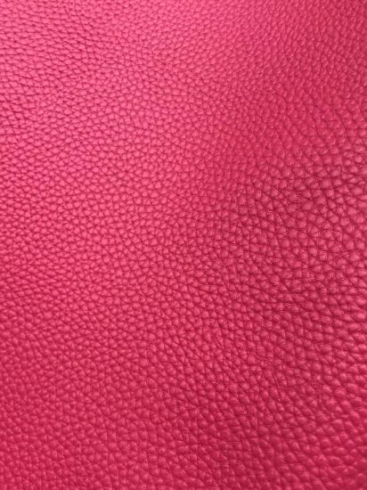 PU Leather with Fcotton Fabric Backing for Shoes