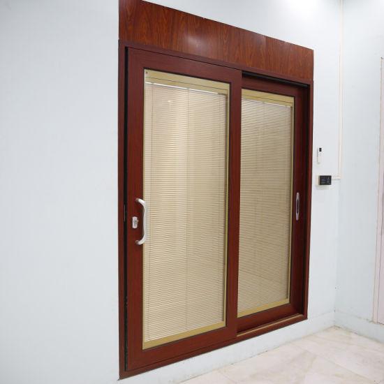Foshan Factory Customized Aluminum Sliding Door with Invisible Screens