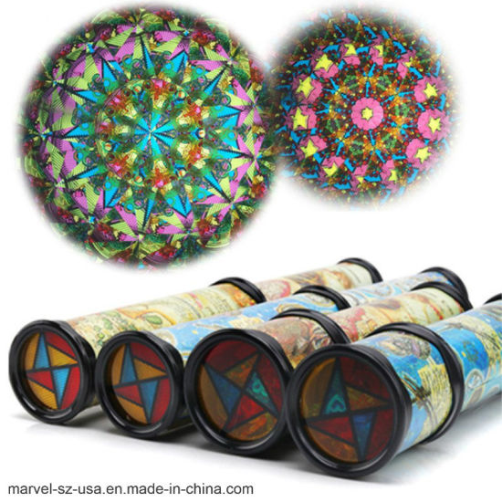 Hot Sale Colorful Kaleidoscope Toy Kids Birthday Educational Toys Children Gifts