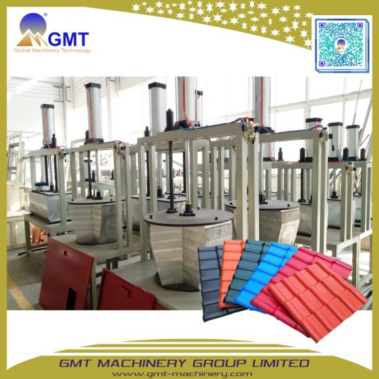Corrugated Anti-Aging PVC Plastic Glazed Color Roof Tile Forming Extruder Making Machine