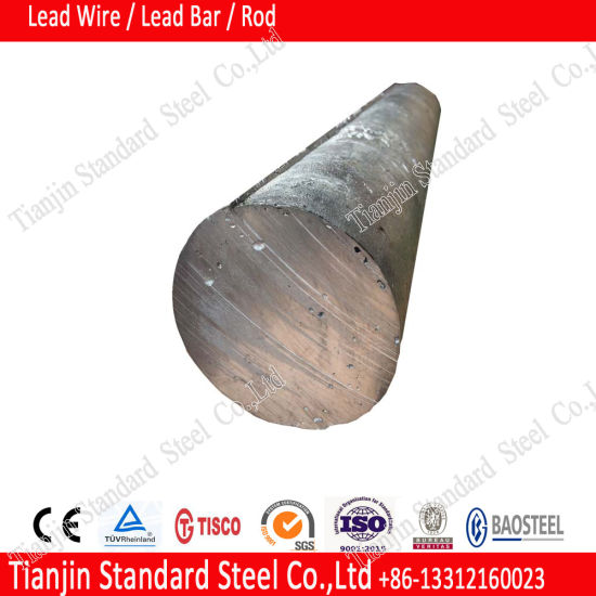 Extruded 99.99% Lead Round Bar for Acid Battery pictures & photos