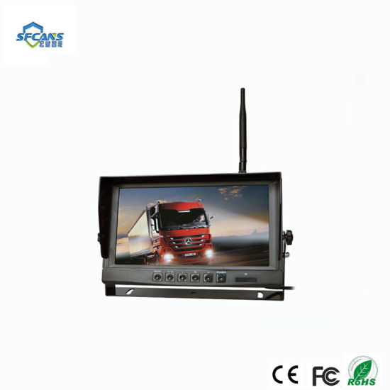 WiFi Vehicle Rear View Reversing Wireless Monitor System Camera pictures & photos
