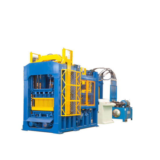 Full Automatic Concrete Cement Hollow Brick Block Making Machine Used Construction Machinery in Dubai