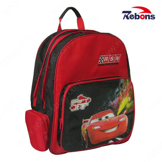 Wholesale Car Pattern Kids Child Children School Bag