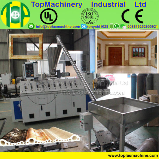 Polystyrene Foam Frame Making Machine For Plastic Foam Profile Picture Bar Photo Line Producing By Recycled Eps