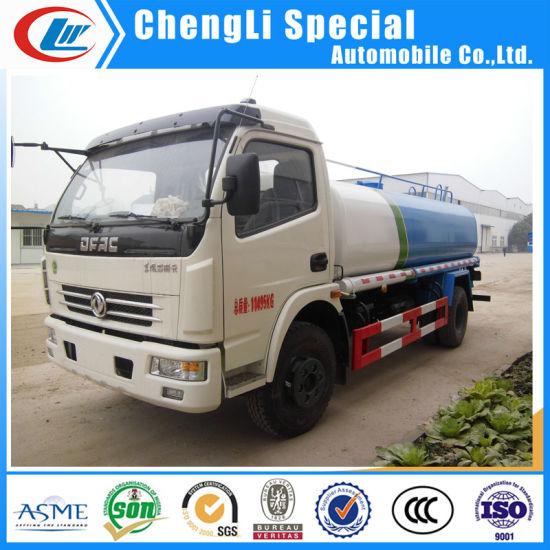 Dongfeng 4X2 8000liters Carbon Steel Sprinkler Mulifunction Water Truck