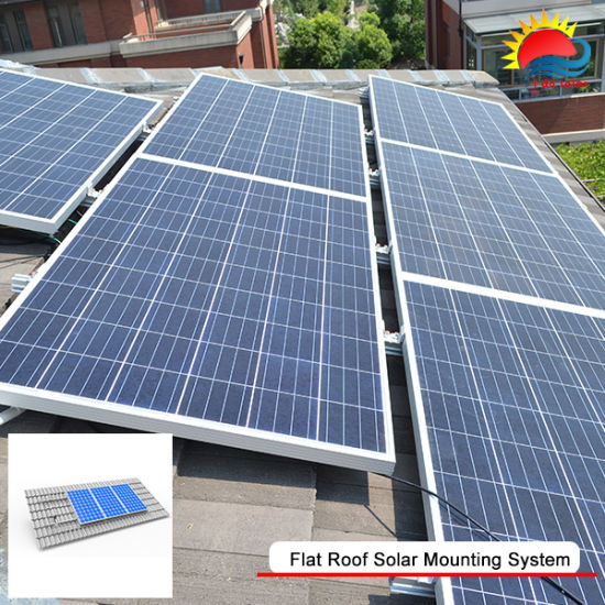 Solar Panel Mounted And Mounting Systems For Tile Roof Or Pv Mount