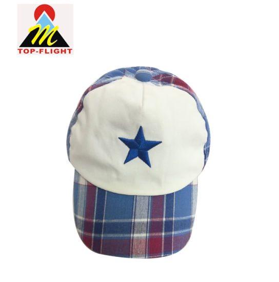13ef37690c6dd5 Custom Embroidery Soft Cotton Baby 5 Panel Baseball Hat with Elastic Band