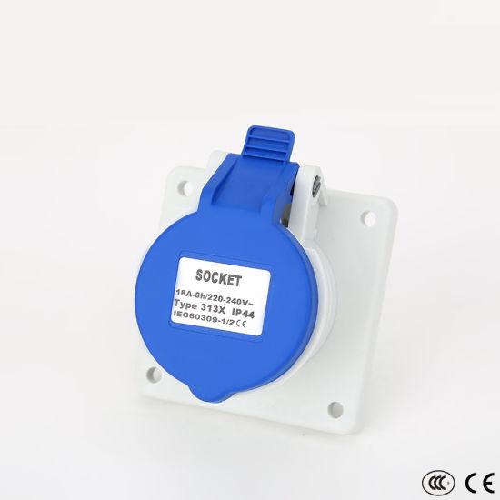 Universal Watertight Waterproof Electrical Outlet Industrial Plugs Sockets