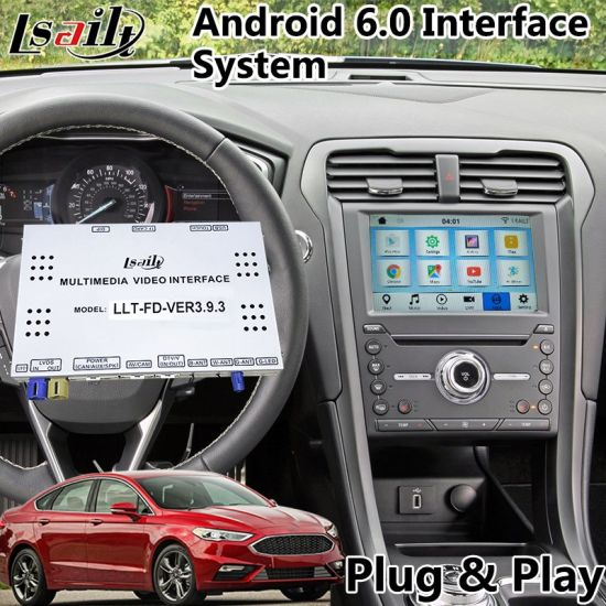 China Car Video Interface Android Navi Box for 2016-2018 Ford Fusion