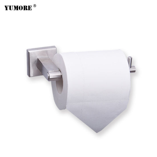Bathroom Accessories 304 Stainless Steel A4 Paper Holder Jumbo Roll Paper Towel Holder