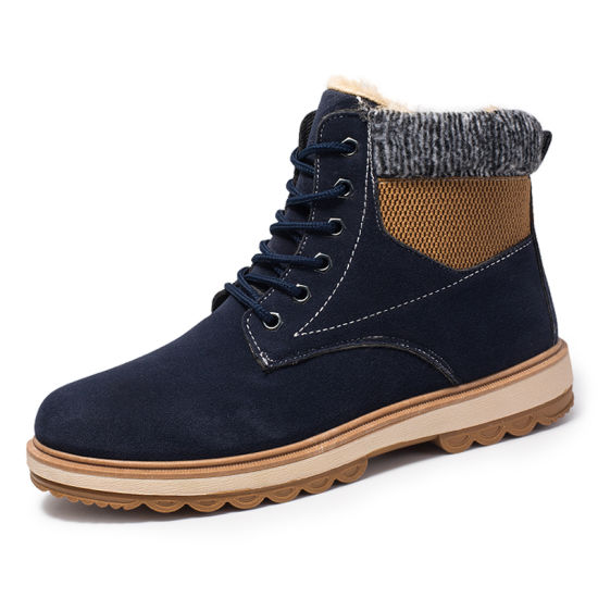 OEM High Quality Warm Snow Fur Winter Boots for Men