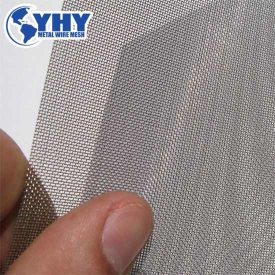 Stainless Steel Woven Wire Mesh for Filter Mesh Factory