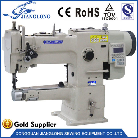 246 Direct Drive Cylinder Bed Compound Feed Computerized Lockstitch Industrial Sewing Machine