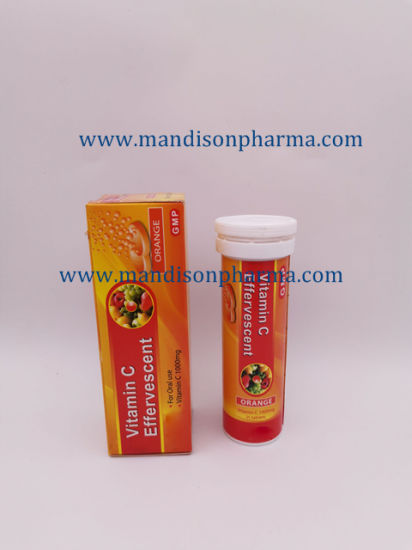 effervescent vitamin c tablets side effects
