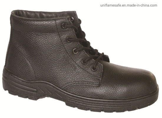Ufa024 Black Safety Boots Men Black Knight Safety Boots