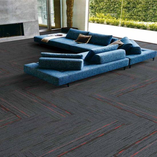 Carpet Tile With Pvc Backing