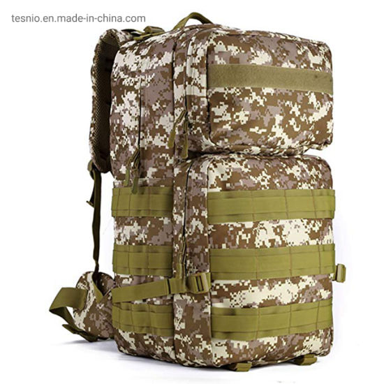 Military Tactical Army Laser-Cut Molle Big Assualt Backpack Camping Bags