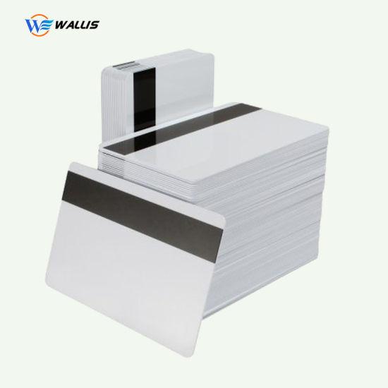 Glossy Plastic PVC 125kHz T5577 White Blank Card/Premium Quality Blank White Plastic Sublimation PVC ID Card