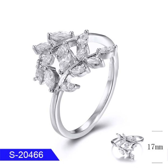 China New Model Fashion Simple Jewelry Sterling Silver Or Copper