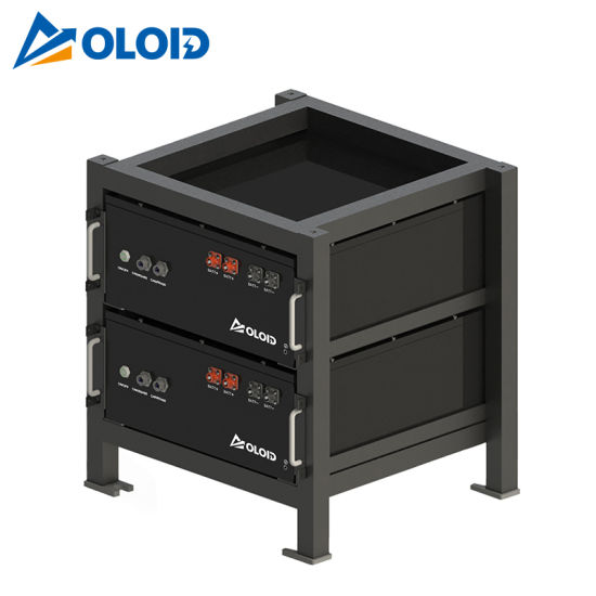 10.24kwh Solar Rechargeable Li-ion LiFePO4 Lithium Storage Battery with BMS