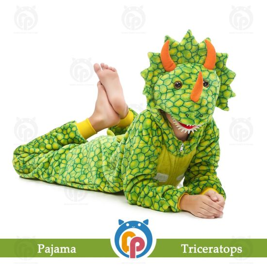 Family Fleece Warm Christmas Costumes/Cartoon Character Costumes/Wholesale Pajamas