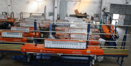 8 Spindles Automatic Glass Edge Machine