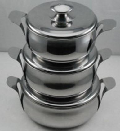 Stainless Steel Cooking Pot-No. Cp13-Cookware
