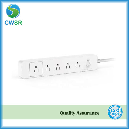WiFi Smart Power Strip 4 Outlets and 4 USB Ports