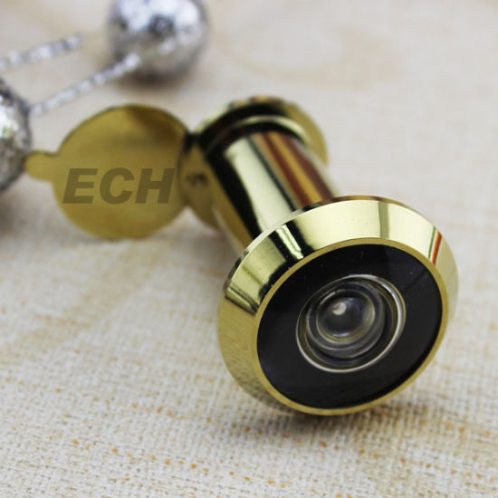 New Design Gold Brass Door Viewer (DVE001) pictures & photos