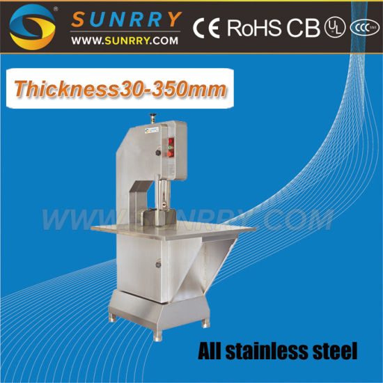China 15 M/S Blade Speed Meat and Bone Cutting Saw Machine