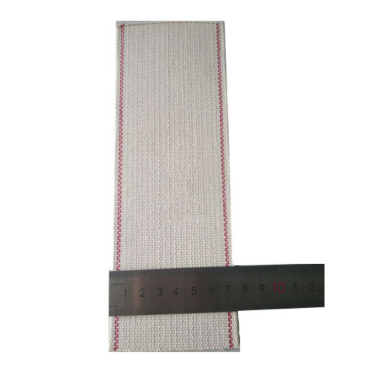 75mm Cotton Folding Machine Belts with Small Shrinkage High Temperature Coating