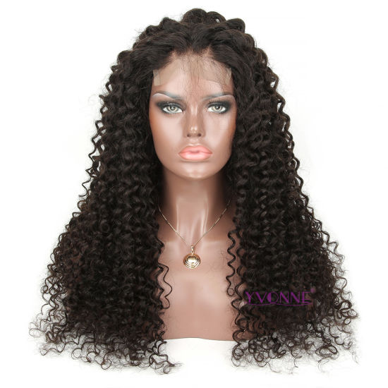 Deep Wave Brazilian Remy Human Hair Lace Front Wig
