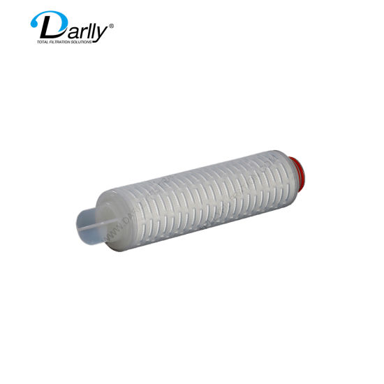Darlly High Flow Ment Micron Pleated Filter Beer Filter Cartridge