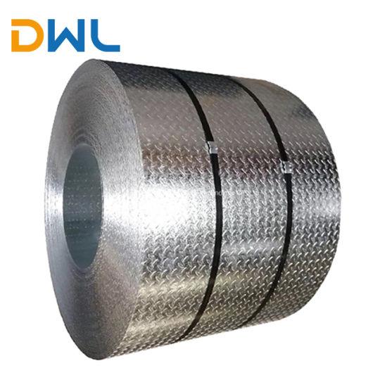 4mm 6mm Thick Galvanized Steel Sheet Metal (tear drop galvanized steel)