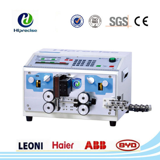 China Lowest Price EDM Double Wire Cable Cutting Stripping Machine ...