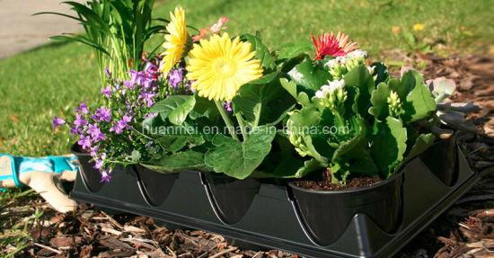 China Round Flower Pots Planters Nursery Seeding